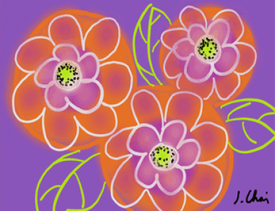 digital-flower-drawing